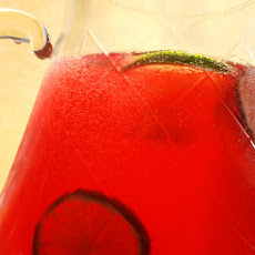 Virgin Pomegranate-Lime Rickey Recipe