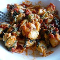 Cheesy Spinach Pasta Bake