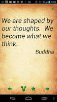Screenshot of Buddha Quotes Pro