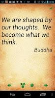 Screenshot of Buddha Quotes Pro