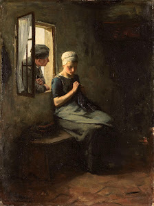 RIJKS: Albert Neuhuys: painting 1880