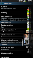 Screenshot of Dock4Droid Unlock