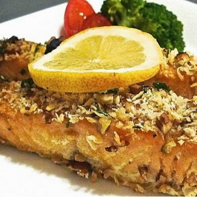 Honey Dijon Glazed Salmon