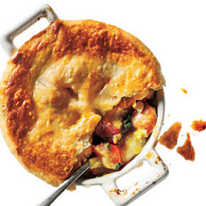 Chicken, Potato, and Leek Pie