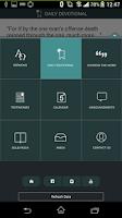 Screenshot of New Creation Church App