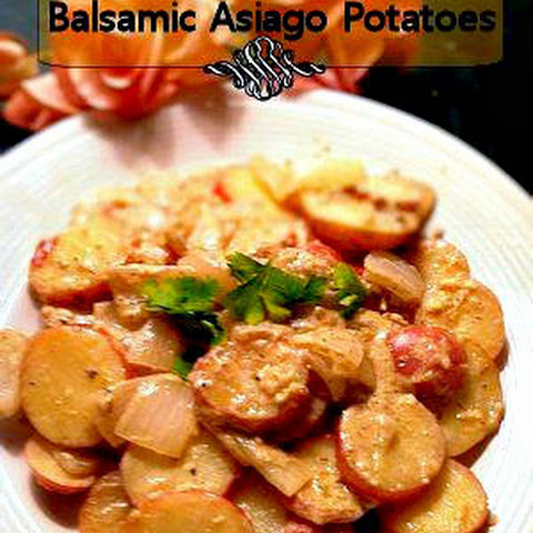 Balsamic Asiago Potatoes