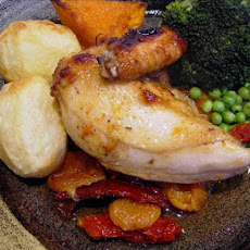Sun-Dried Tomato and Apricot Chicken
