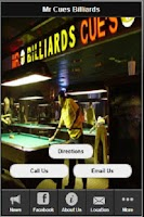 Screenshot of Mr Cues II Billiards