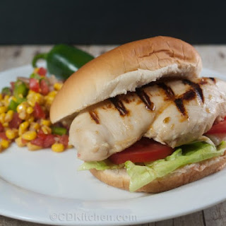 Jalapeno Grilled Chicken Sandwiches