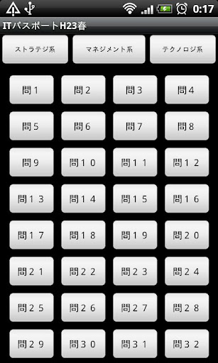 ITパスポート平成23年春 特別試験