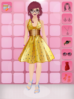 Screenshot of Fashion Doll Makeover