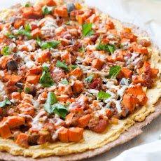 Curried Red Lentil Pizza