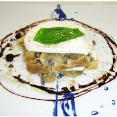 How to Cook with a wow Mushroom Tower, with Buffalo Mozzarella Cheese