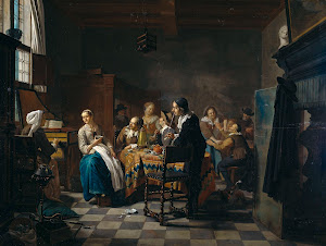RIJKS: Jan Josef Horemans (II): painting 1760