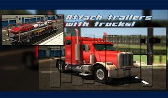 Screenshot of Car Transporter Trailer 3d Sim