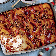 Baked French Toast with Pecan Crumble