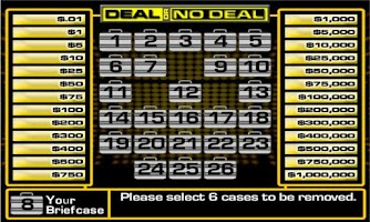 Screenshot of Deal or No Deal Free