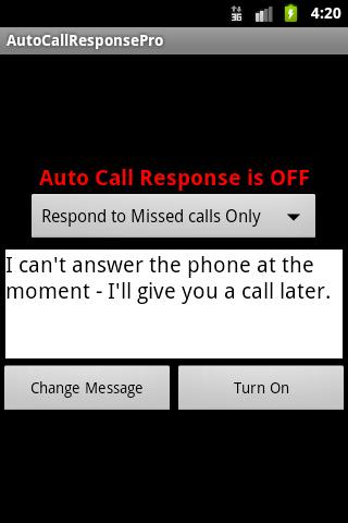 Auto Call Response Pro