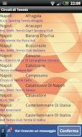 Screenshot of Circoli di Tennis