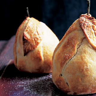 Baked pears in pastry – Great British Bake Off inspired