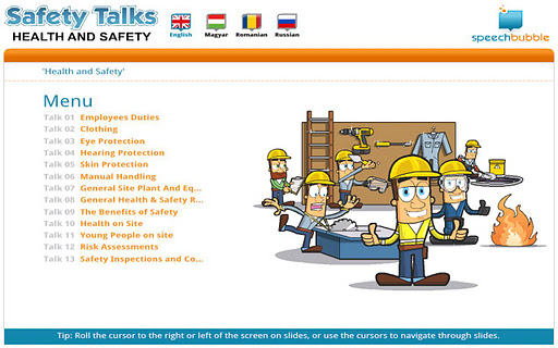 Safety Talks - HS Hungarian