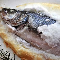 Salt Crusted Branzino
