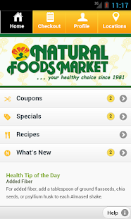 Natural Foods Market - screenshot