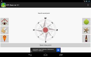 Screenshot of GPS Base