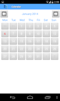 Screenshot of School diary lite