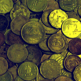 coins.... by Arjun Sabesh - Artistic Objects Antiques