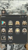 Screenshot of Holy Light GO LauncherEX Theme