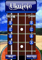 Screenshot of Free Ukulele Tuner