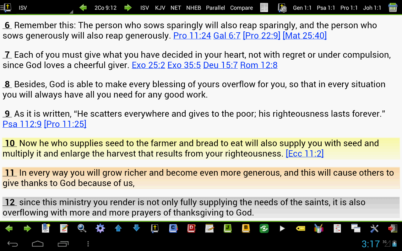 MySword Bible Screenshot 8