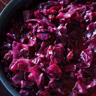 From A Polish Country House Kitchen's Red Cabbage with Cranberries