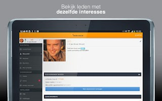 Screenshot of Rendez-Vous.be - Dating