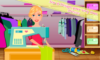 Screenshot of Tailor's Design Boutique