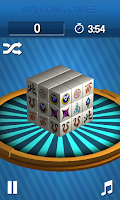 Screenshot of Mahjong Cubes