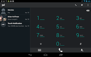Screenshot of Touch Mobile Calls & Messages