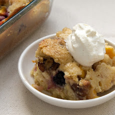 Blackberry Peach Cobbler