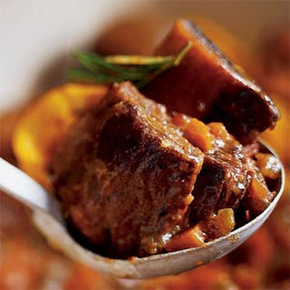 Port-braised Short Ribs with Ginger and Star Anise