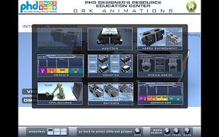 Screenshot of PHD Education Center
