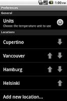 Screenshot of Fling Weather