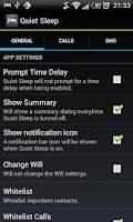 Screenshot of Quiet Sleep Free