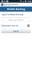 Screenshot of DCCU Mobile Banking