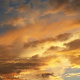 Sunsetpeek of heaven…. by Ellen Haines - Instagram & Mobile iPhone ( a )