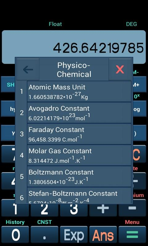 New Scientific Calculator Screenshot 5