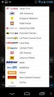 Screenshot of TrackPack - Mail Tracking