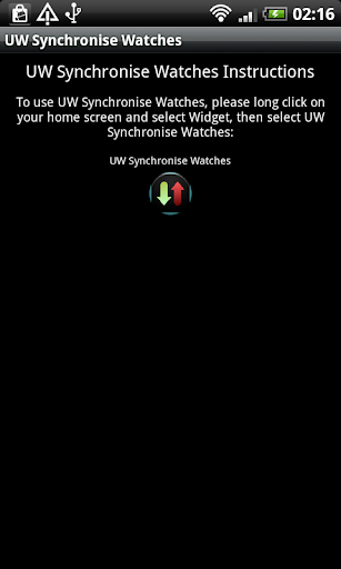 UW Synchronise Watches