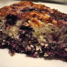 Huckleberry ( or Blueberry) Coffee Cake