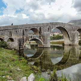 Bridge by Irena Perkušić - Buildings & Architecture Bridges & Suspended Structures ( brodge, arslanagic, trebinje, sirena, river )